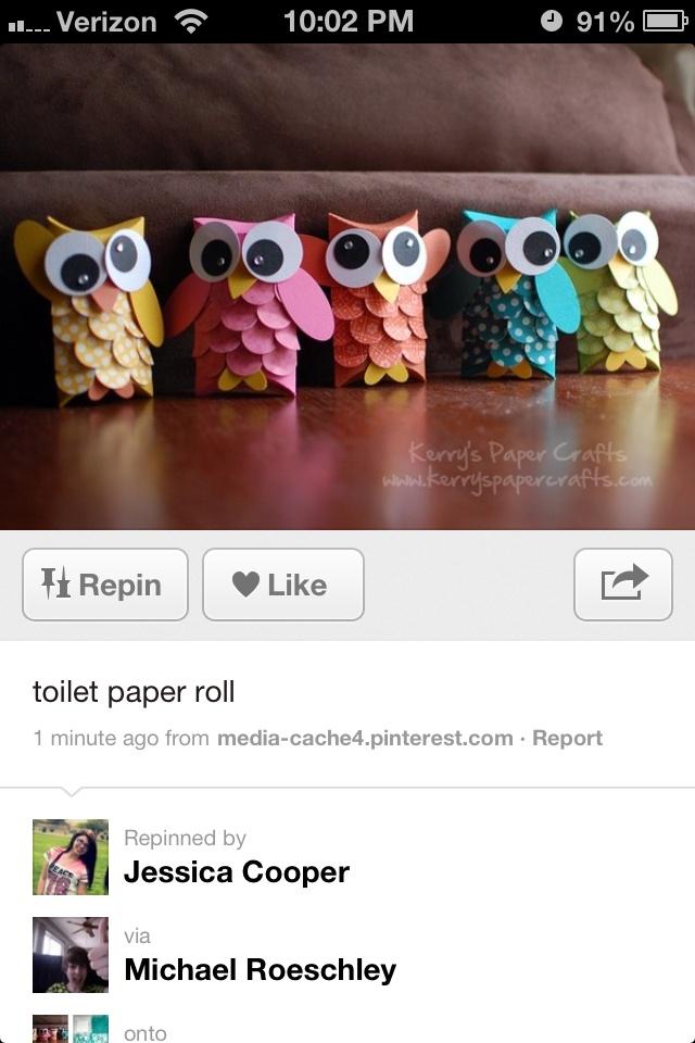 Toilet rolls for thanks giving
