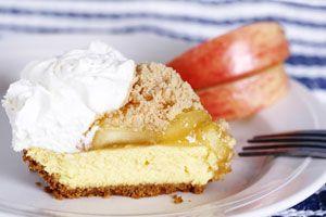 Autumn Apple Cheesecake | Recipe