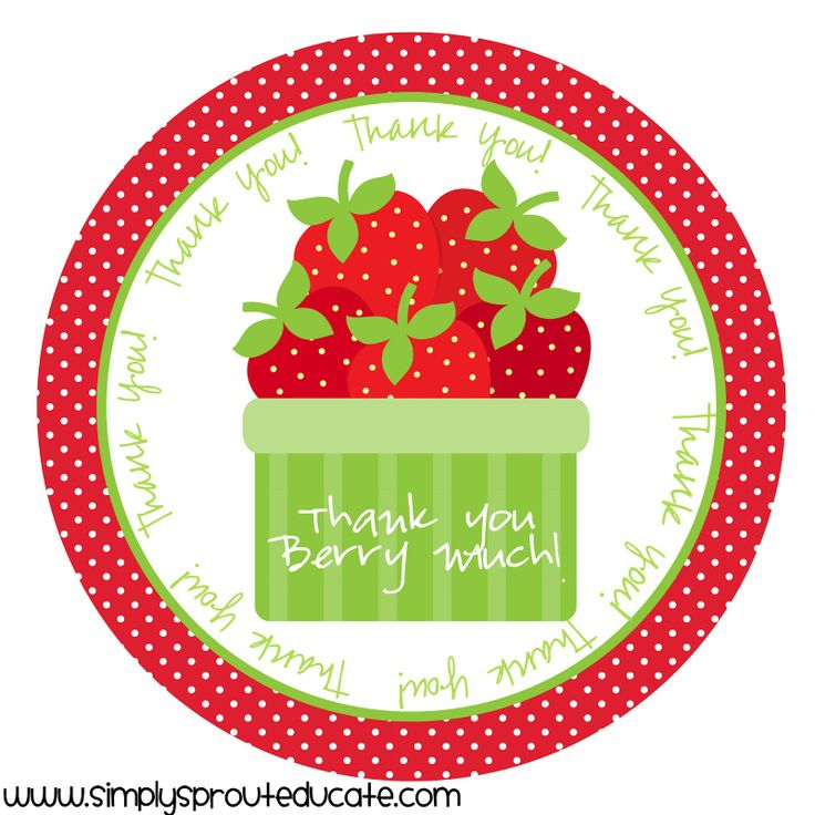 Simply Sprout: Celebrate Teacher Appreciation Week!Simply Sprouts, Teachers Gift, Teachers Appreciation Weeks, Gift Ideas, Appreciation Gift, Teacher Appreciation Week, Gift Tags, Celebrities Teachers, Berries
