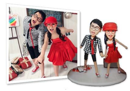 customised memory dolls