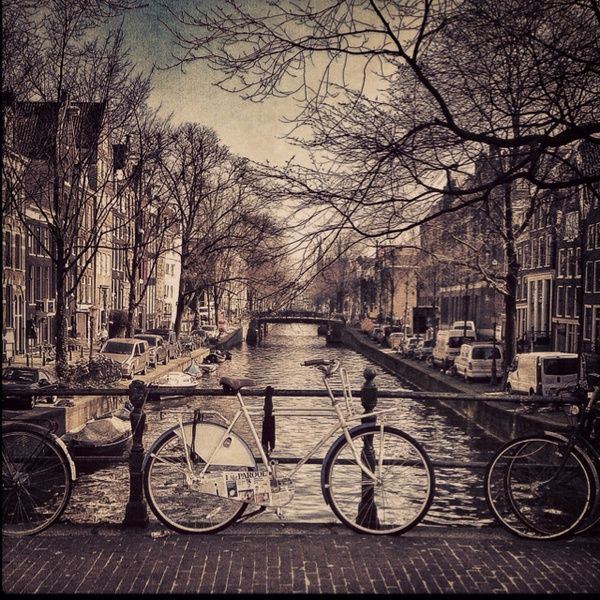 Amsterdam, one of the cosiest cities in the world!