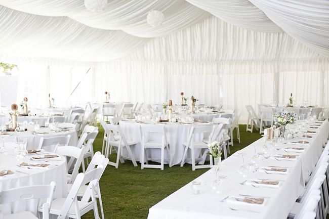 White marquee wedding. Wedding marquee. Real Wedding: Emma and Jacob in Noosa and Ilkley | The Bride's Tree - Sunshine Coast Wedding
