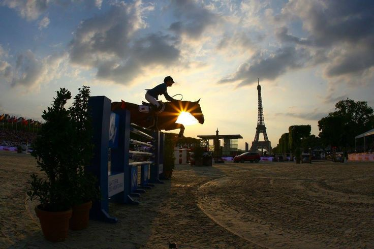 www.horsealot.com, the equestrian social network for riders & horse lovers | Showjumping : Luciana Diniz and Fir For Fun, Paris Eiffel Jumping 2015.