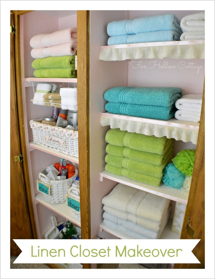 Pretty Closet Makeover Find Lots Of Great Linen Ideas I Gathered