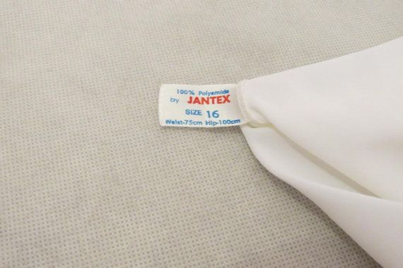 Maxi Long Half Slip 1970s by LouisaAmeliaJane on Etsy
