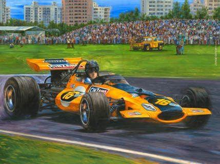 McLaren M7C-Cosworth, Formula 1 debut, GP de la republica Argentina ...