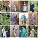"""E-Book """"Irenes Kleid"""" Mehrgrößenschnitt und bebilderte Nähanleitung  Größen: 34, 36, 38, 40, 42, 44, 46, 48, 50, 52 Brustumfang: 80-122cm  oooooooooooooooooooooooooooooooooooooooo  Irenes..."""