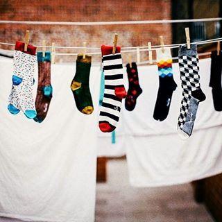A HappySocks zoknijaival még a mosás is vidáman telik :)