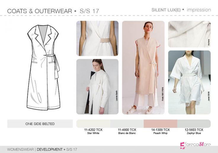 See the new forecasting fashion trends about Impression SS17 | Development | Womenswear, Fashion & Product development ai CAD with 5forecastore.