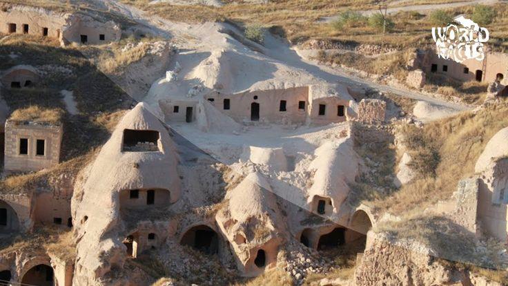 MISTERIOASELE ORASE SUBTERANE din TURCIA