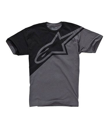 Take a look at this Charcoal Split Decision Tee - Boys by Alpinestars on #zulily today!