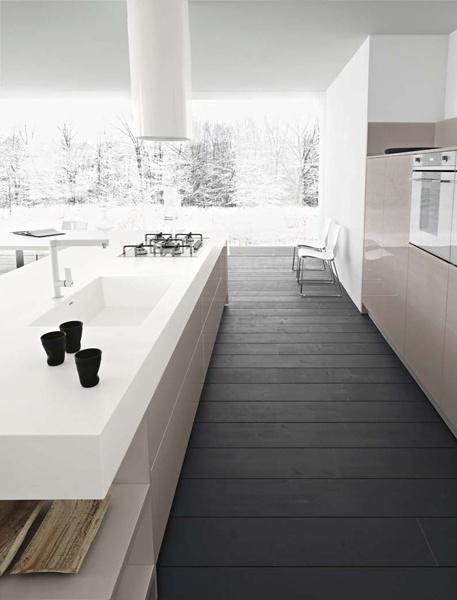 Fitted #kitchen FRIDA by @Cesar Chavez Cucine & Living | #design Gian Vittorio Plazzogna