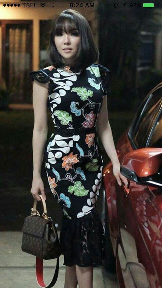 Batik Modern #BatikDress #Batik #Indonesia #Gisella