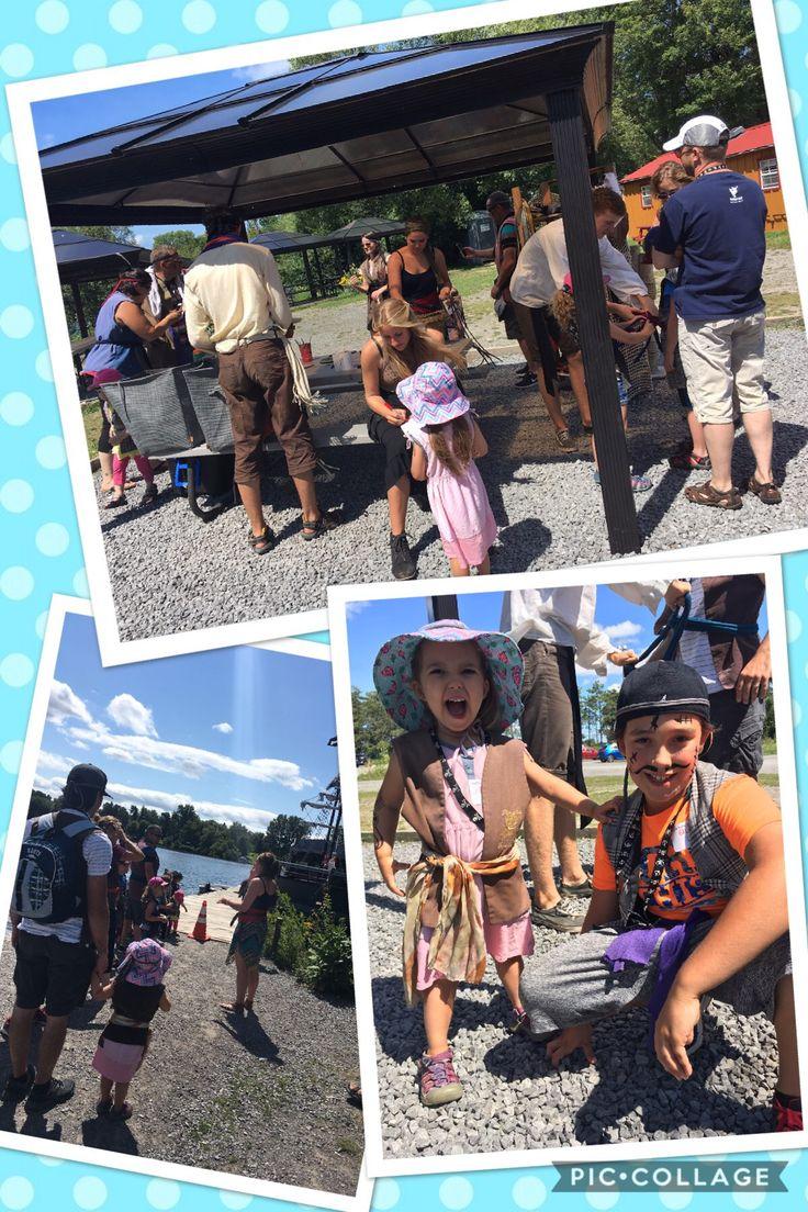 Une aventure de pirates. Argggg!  #Activitéenfamille #bateau #Croisière #déguisements #Enfant #Famille #Ottawa #pirates