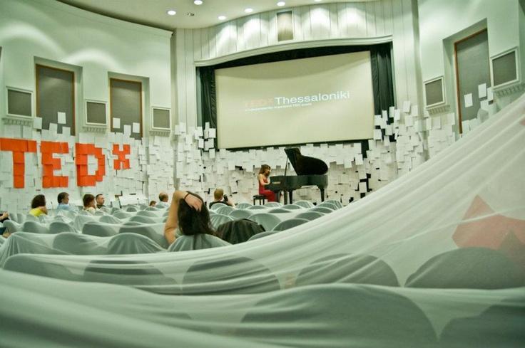 TEDxThessaloniki 2012 simulcast lounge