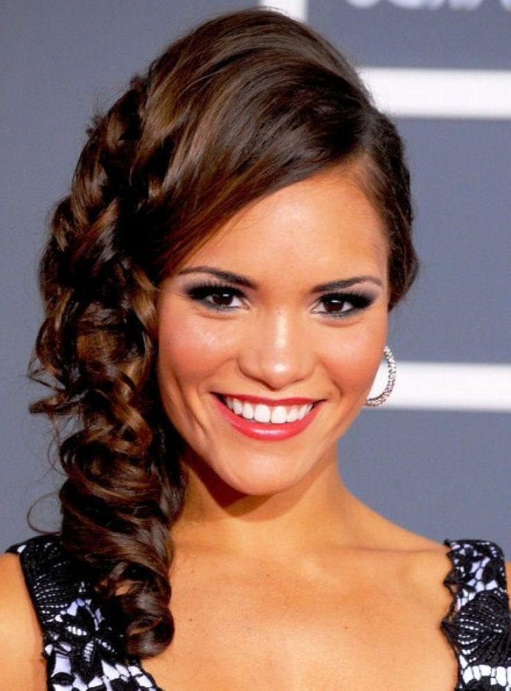 Nice Celebrity Hairstyles Prom