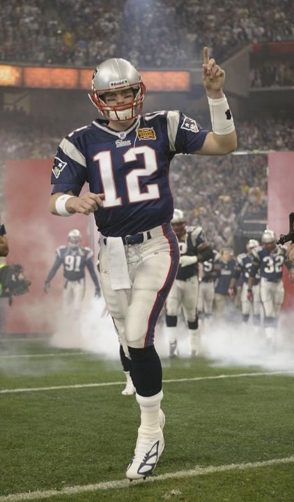 Tom Brady Patriots Super Bowl XXXVIII (38) MVP