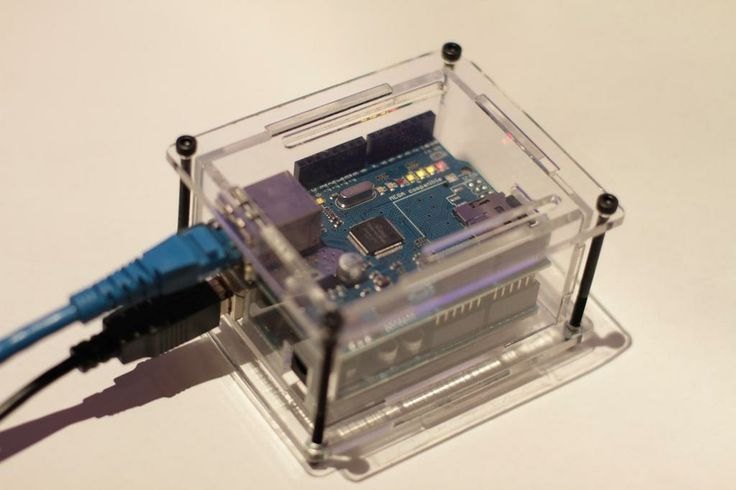 Laser cut Ethernet shield / Arduino enclosure by teabot.