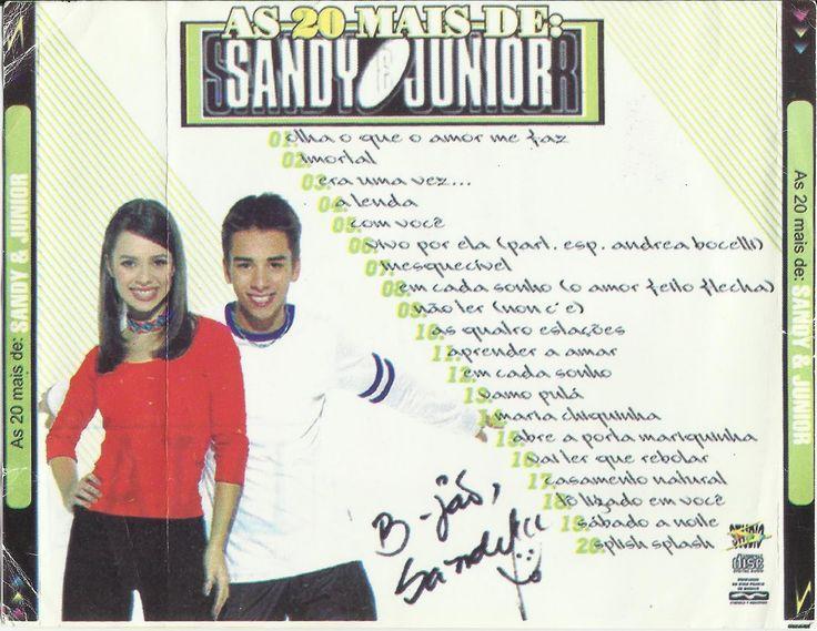 CD - As 20 mais de Sandy & Junior