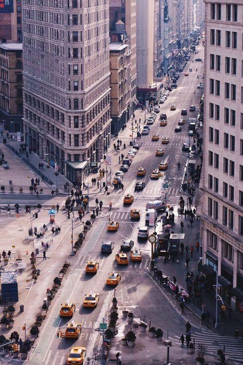 Image via We Heart It #broadway #cab #empirestatebuilding #happiness #newyork #newyorkcity #nyc #rockefellercenter #taxi #timessquare #travelling #wanderlust #yellow #travels #flatironbuilding #resfeber