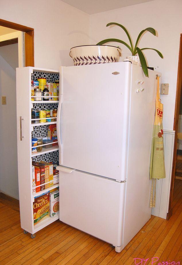 The BEST pantry organization idea! – #idea #Organization #Pantry