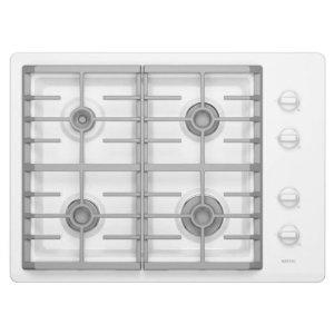 #9: Maytag MGC7430WW 30 Gas Cooktop, 4 Sealed Burners - White