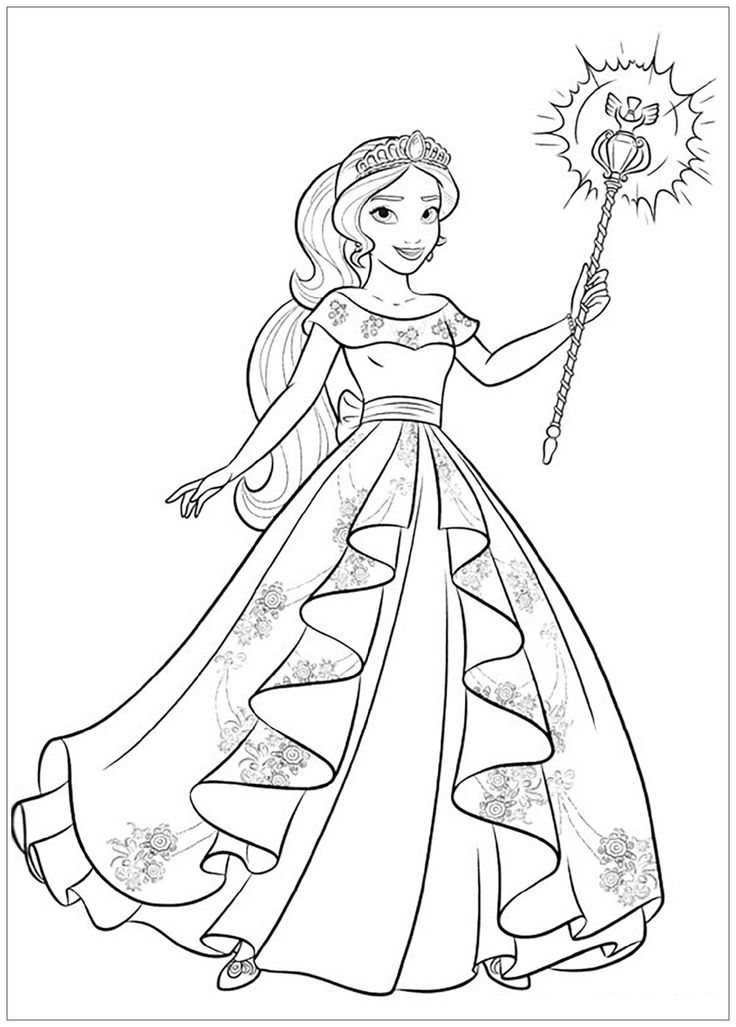 33+ Princess elena coloring pages to print ideas in 2021