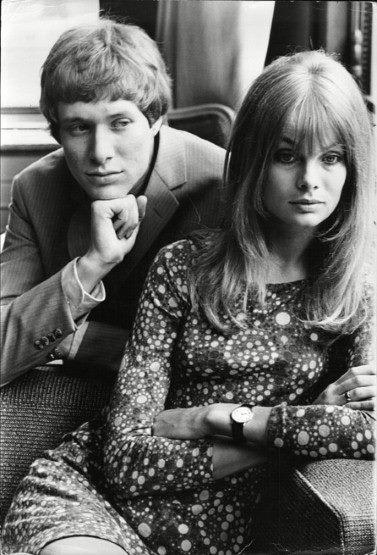 Jean Shrimpton & Paul Jones 1967
