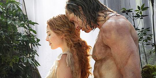 The First 'Legend of Tarzan' Trailer Is Here, and Yes, It *Is* All About Alexander Skarsgård's Abs  - MarieClaire.com