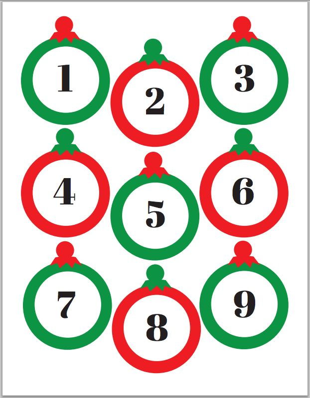 Free printable Christmas joke Advent Calendar - my kids will love this and it'll be so easy to keep up with - score!