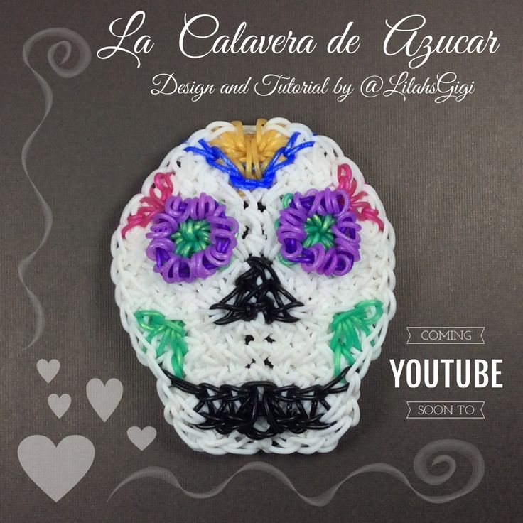 I created this LA CALAVERA DE AZUCAR design for the HallowLoom 2016 loom competition hosted by @zombifymee and @animal4looms on Instagram. This is a 12 pin-b...