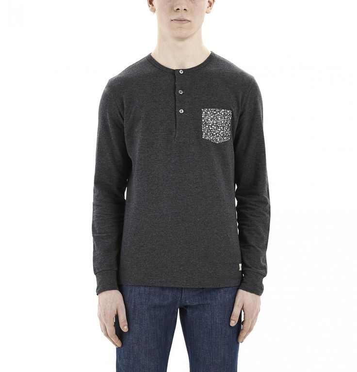 Grey Henly Shirt