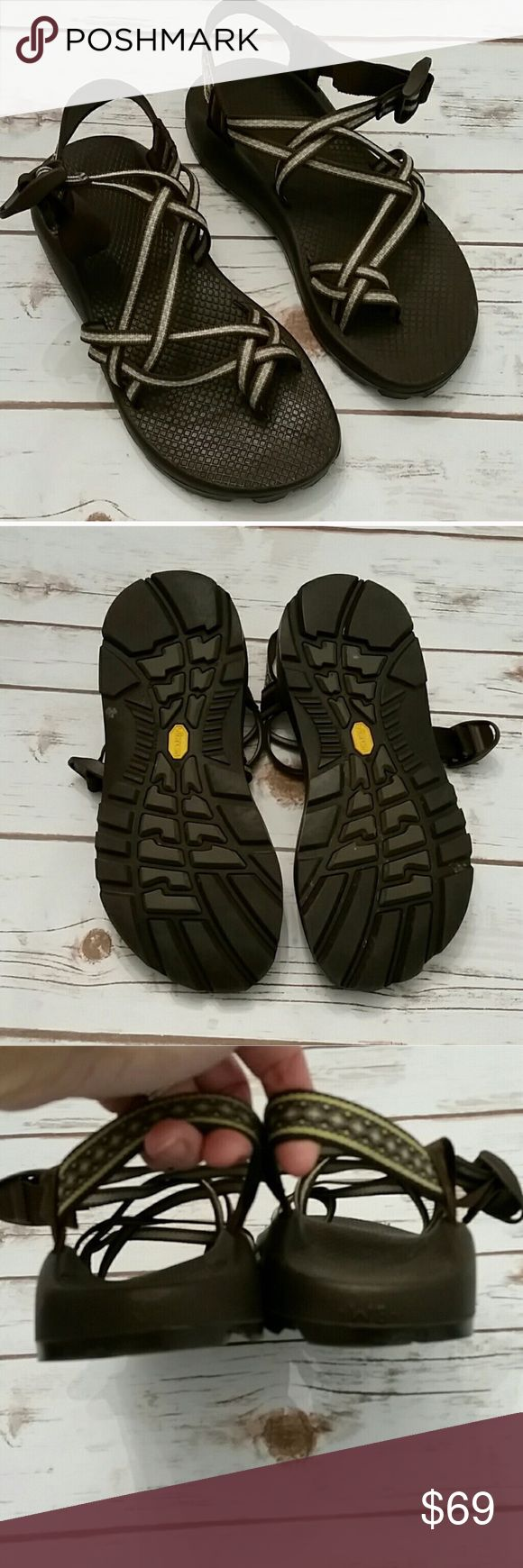 Chacos Size 8 Chacos for sale. Worn once. Deep, dark brown color - almost appear black in color. Size 8.  Perfect for the active!! Chacos Shoes Sandals