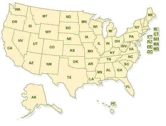 Current National Unemployment Rate, by State or City