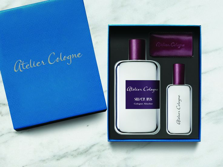 Atelier Cologne: Silver Iris Ecrin Absolue 200ml Spray & 30ml + Leather Case - A woman of such intimidating beauty and sparkling vitality gained the adoration of everyone around her. However, no one knew what she had been through. With her wild spirit, she was tough, stronger than metal, and never looked back. When she met him, for the first time in her life, she could stand still. She may have found the absolu man.Following Collection Originale and Collection Matières Absolues, Sylv…