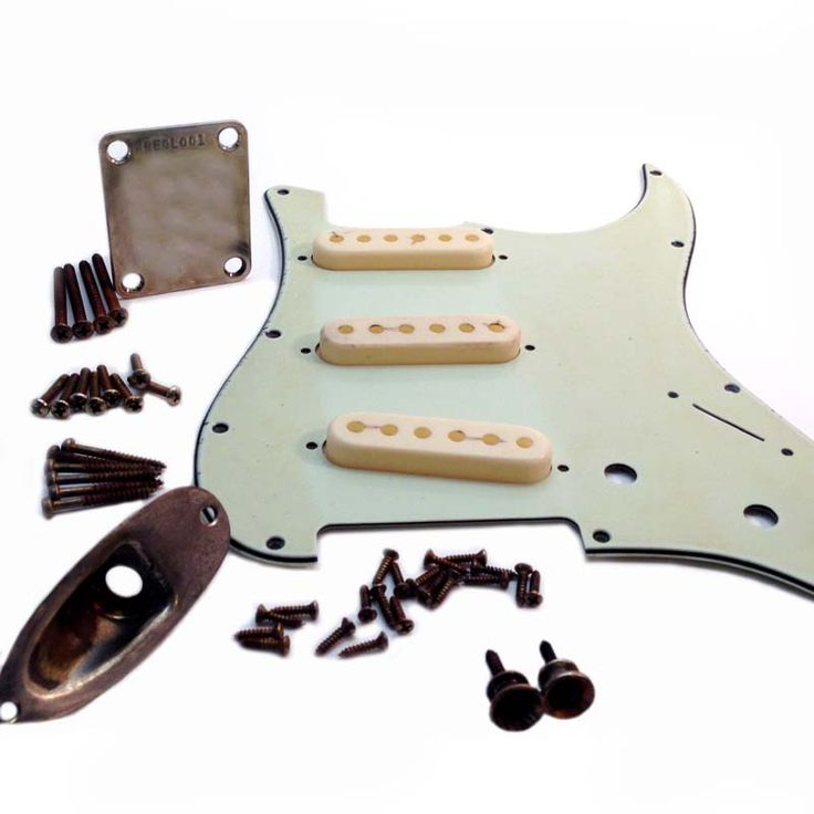 """<p><span style=""""font-size:16px;""""><span style=""""font-family:georgia,serif;"""">If you are searching for aged parts to make your own """"Relic"""" Stratocaster style guitar, we've got you covered!! We've put together pretty much every part you will need, and saved you some <span style=""""font-size:18px;""""><span style=""""color:#00FF00;""""><em><strong>$$$</strong></em><&..."""