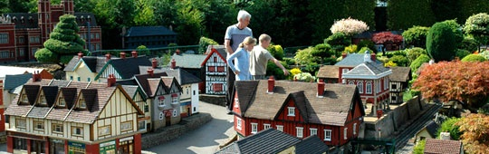 Bekenscot Model Village & Railway, Buckinghamshire, U.K.