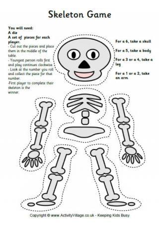 Skeleton Game- adapt to involve addition