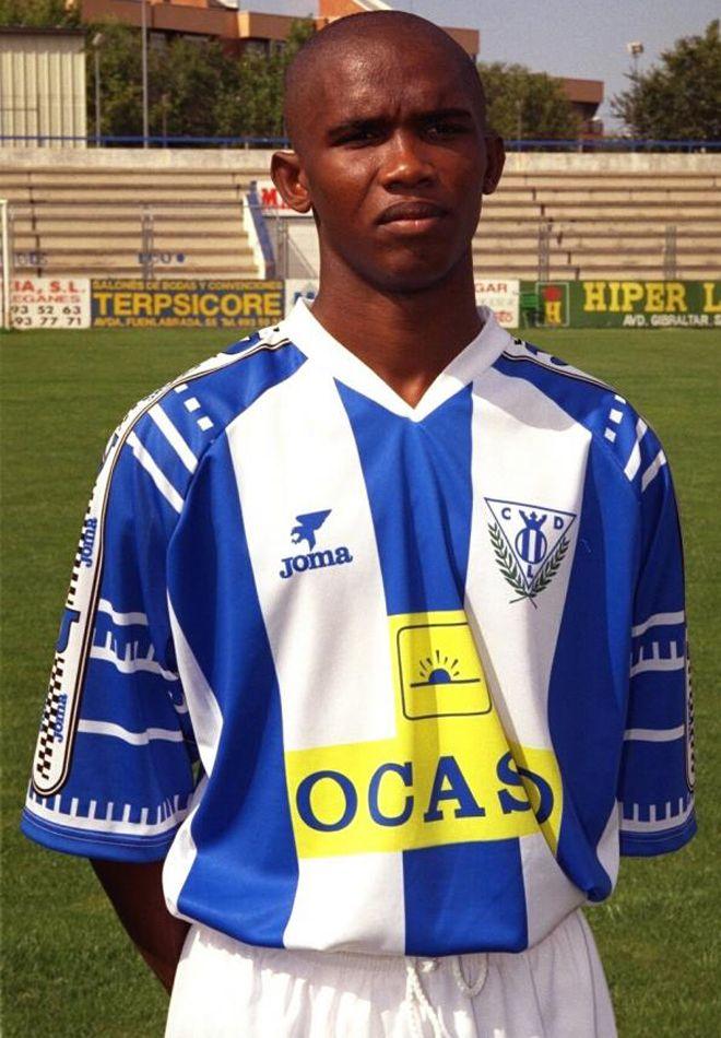 Samuel Eto'o, Club Deportivo Leganes, 1997/98.Source: Marca