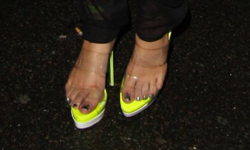 Lady Gaga Feet Close Up Celebrities Appendages Lady
