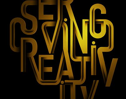 "Check out new work on my @Behance portfolio: ""Serving Creativity"" http://be.net/gallery/43481425/Serving-Creativity"