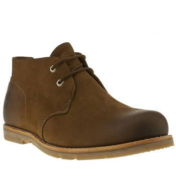 Men's Dark Brown Timberland Plain Toe Chukka Waterproof Boots | schuh