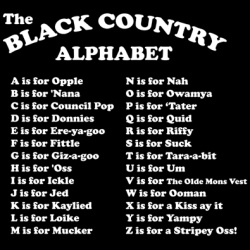 The Black Country slang!