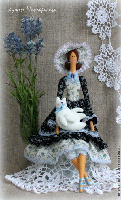 Куклы Тильды ручной работы. Ярмарка Мастеров - ручная работа кукла в стиле Тильда-Анна-Мария.. Handmade.