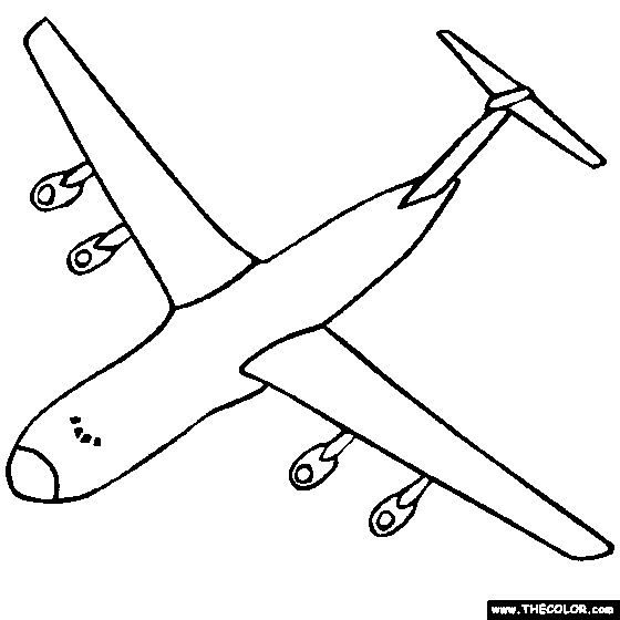 find this pin and more on kids coloring pages lockheed galaxy us military cargo airplane free airplane and fighter aircraft