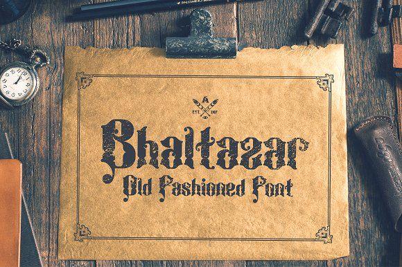 Bhaltazar Font by Alterdeco Inc. on @creativemarket