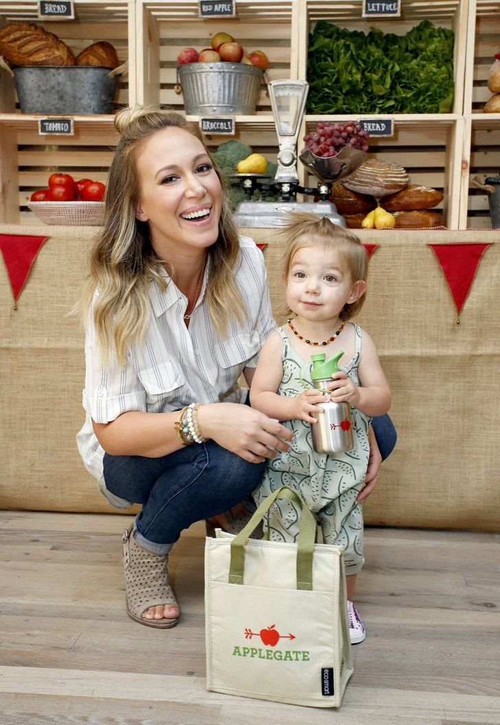 Haylie Duff's Daughter Ryan Seems Like a Really Fun Farmer's Market Companion