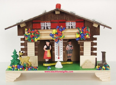 kitschy cute German weather house