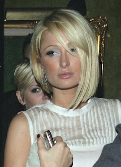 Paris Hilton - Short hairstyles