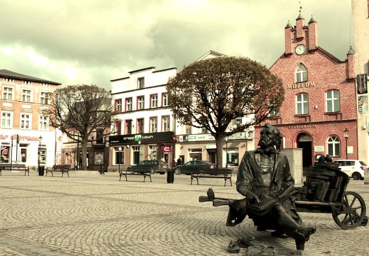 Rynek w Kościerzynie/ Costerina's Square Place #city #sightseeing
